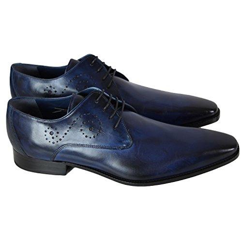 Melvin & Hamilton - Chaussure en cuir Melvin & Hamilton Oskar 8 Bleu