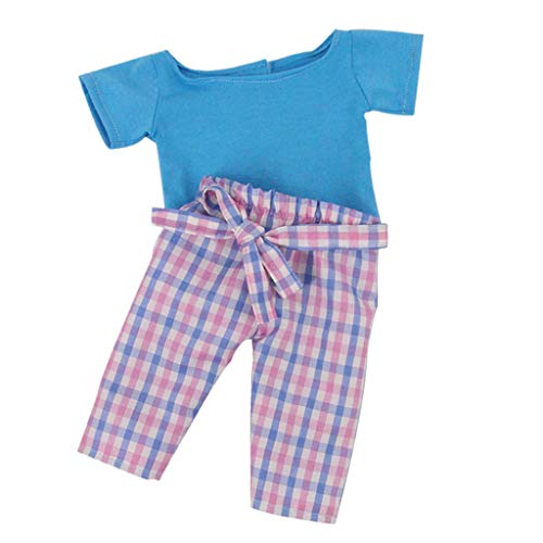 B Blesiya Handgefertigt Puppenkleidung mit Zubehör für 18 Zoll Puppe Dress Up - # 6 (Dress Up Doll Für Jungen)