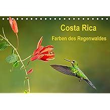Costa Rica - Farben des Regenwaldes (Tischkalender 2020 DIN A5 quer): Farbenprächtige Bilder