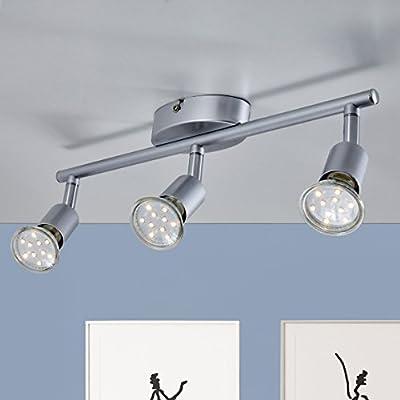 B.K.Licht LED Deckenleuchte 3xLED/GU10/3W von B.K.Licht