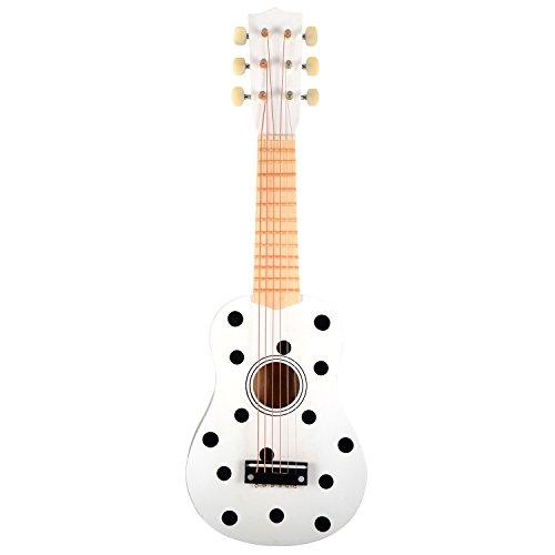 MAGNI-Guitarra con Puntos S de 6Cuerdas, 2431, Negro