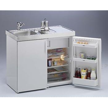 Kompaktküche singleküche mini küche büroküche kleinküche teepantry b100 cm