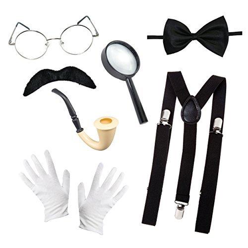 Kinder Welttag Des Buches Detektive Maskenkostüm Accessoires