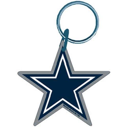 Old Glory Schlüsselanhänger NFL Dallas Cowboys-Logo Lizenzprodukt Acryl Sports Merchandise Nfl-zubehör