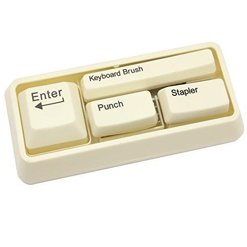 Meetory cuatro uno teclado estilo papelería set-Clip