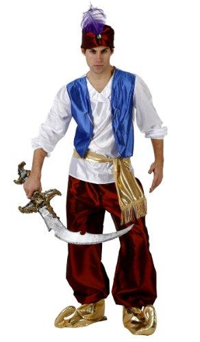 Atosa 97122 - Verkleidung Arabischer Prinz, Erwachsene, Größe (Arabischen Prinzen Kostüme)