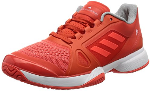 adidas By Stella Mccartney Barricade 2017, Scarpe da Tennis Donna, Arancione (Blaze Orange/ftw White/solar Red), 44 2/3 EU