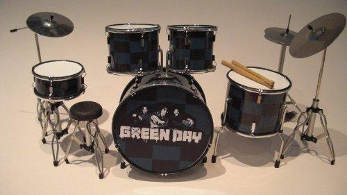 RGM323 Tre Cool Green Day Miniaturschlagzeug
