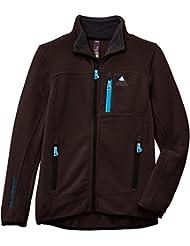 Peak Mountain Ecalon/10-16/xj - Chaqueta de esquí para niño, color marrón, talla 14 años (162 cm)