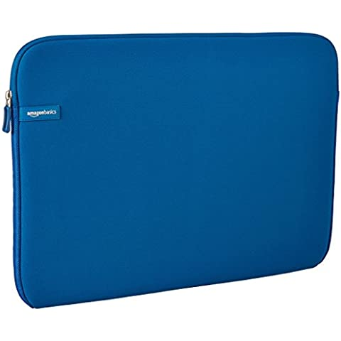 AmazonBasics - Funda para portátil con pantalla de 17,3 pulgadas, color azul