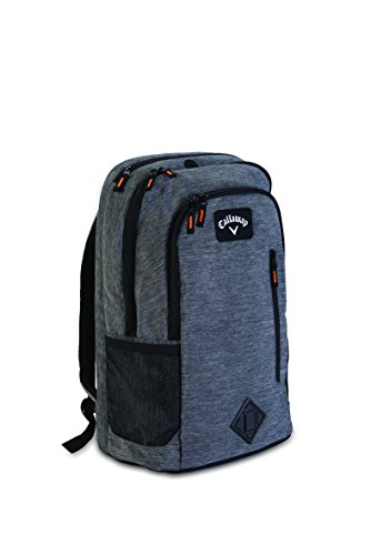 Callaway Golf Clubhouse Collection Back Pack, unisex, Rucksack, 5916102, schwarz, 13 X 7 X 18-Inch (Outlet Callaway Golf)