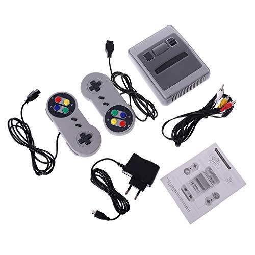 certylu TV-Handheld-Spielekonsole Videokonsole Für NES Spiele Mit -Ausgang Eingebaute 620/621 Verschiedene Spiele