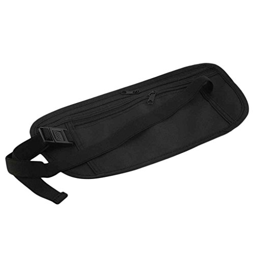 Sports Travel Pouch Cash Zippered Fanny Bag Running