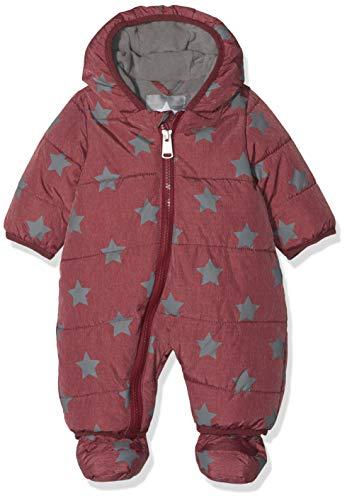Bellybutton Kids Baby-Unisex Schneeoverall m. Kapuze 1/1 Arm Schneeanzug, Rot (Tibetan Red 2380), 86