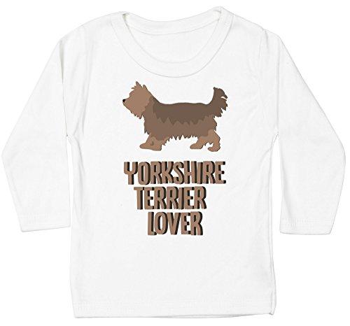Hippowarehouse Yorkshire Terrier Lover Dog Baby Unisex t-Shirt Long Sleeve