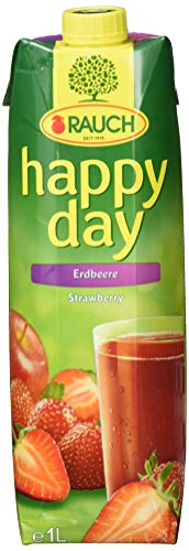 Rauch Happy Day Erdbeere, 6er Pack (6 x 1 l)