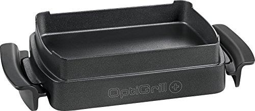 T-Fal XA722 Optigrill Ofenzubehör für OptiGrill Plus GC712D, 4 Portionen, Schwarz