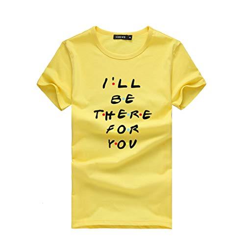 TWIFER Damen Sommer Shirt Mädchen Plus Size Gedruckt Tees Shirts Kurzarm T Shirt Bluse Tops