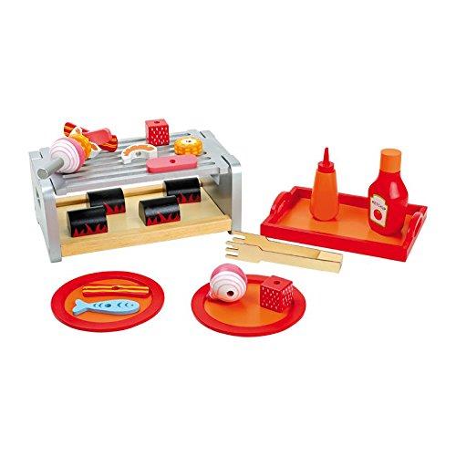 Legler 5858 - Tisch-Grill Tablett aus Holz