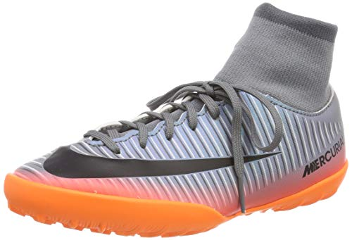 Nike Jungen MercurialX Vcty 6 Cr7 Df Ic Fußballschuhe, Grau (Cool Grey/MTLC Hematite-Wolf G 001), 33 EU