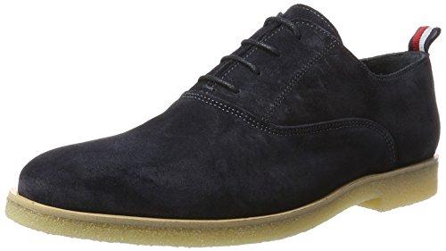 Tommy Hilfiger Herren W2285ILLIAM 1B Niedrige Geschnürt Oxford-Schuhe, Blau (Midnight), 45 EU
