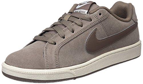 Nike Court Royale Suede, Scarpe da Tennis Donna, Multicolore Mink Brown-Phantom 200, 37.5 EU