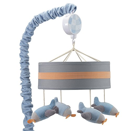 Lambs & Ivy Silver Cloud Musical Mobile