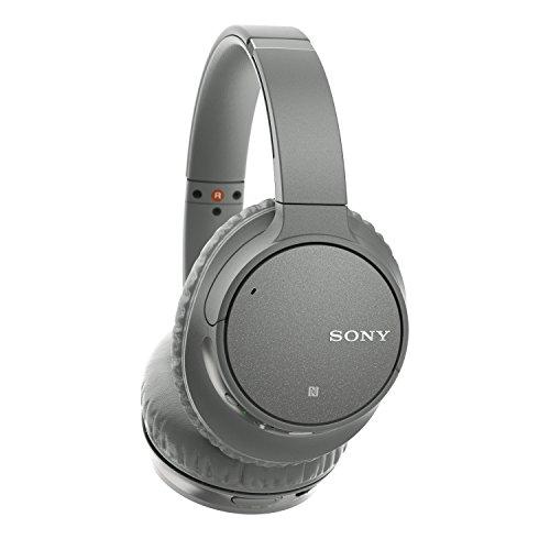 Sony WH-CH700N kabelloser Noise Cancelling Kopfhörer (Bluetooth, bis zu 35 Stunden Akku, Schnelladefunktion, NFC) grau - 2
