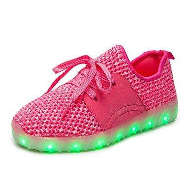 aemember Ragazzi 'Sport Scarpe comfort Light Up scarpe autunno inverno Sintetico in microfibra PU scarpe da trekking sportivo Leger Outdoor lacci Tacco Piatto US5.5 / EU37 / UK4.5 Big Kids