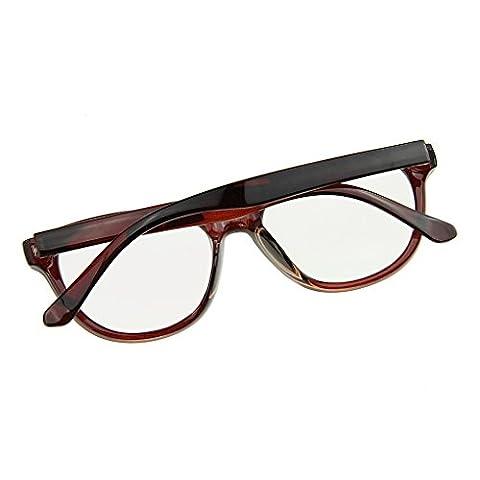 BXT® Lunettes de Lecture Lunettes Unisexe de Travail Lunette pour Ordinateur Protection des yeux Contre les Radiations Lunette Mode Anti-fatigue