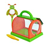 Bouder Insetto Gabbia Insetto Allevamento Box Insect Feeding Kit Cage Kids Explore Magnifier Bug Viewer Catcher Bambini Regali di Compleanno