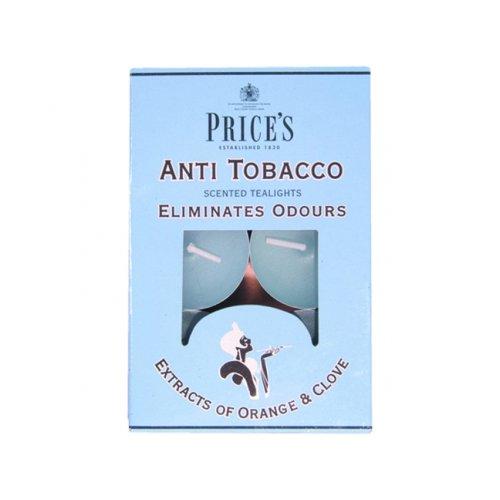 Price's candele antitabacco, confezione da 6