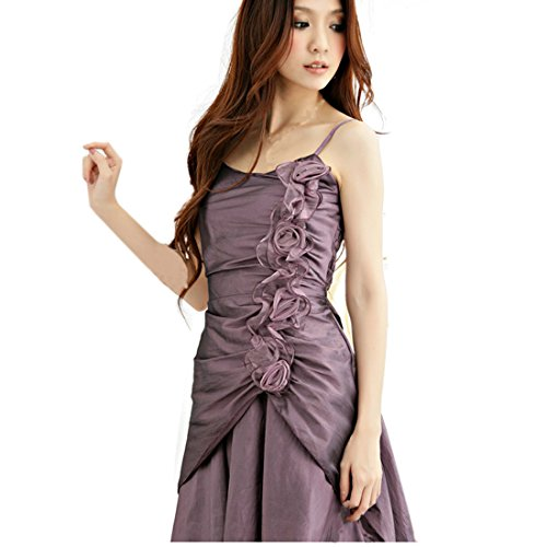 partiss femmes de soirée Plus Taille robes Violet
