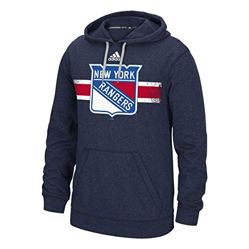 adidas New York Rangers Ice Advantage Ultimate Pullover NHL Hoodie Erwachsene L