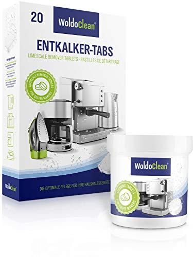 Pflegeset für Kaffeevollautomaten Entkalkungstabletten 20x 16g und 40x 2g Reinigungstabletten