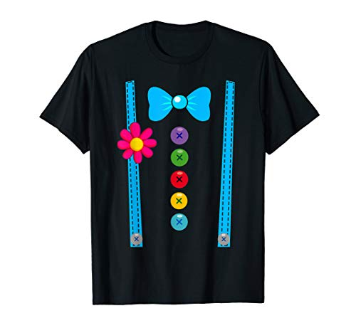 Clown Kostüm T-Shirt Fasching Gruppen-Kostüme Kinder - Kind Klassische Clown Kostüm