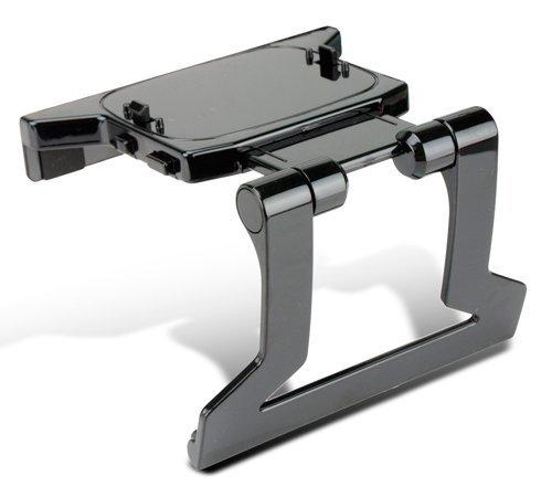 Preisvergleich Produktbild MOGOI (TM) Schwarz TV Halterung Ständer Halter Halterung für Xbox 360 Kinect Sensor,  Inklusive MOGOI Accessory