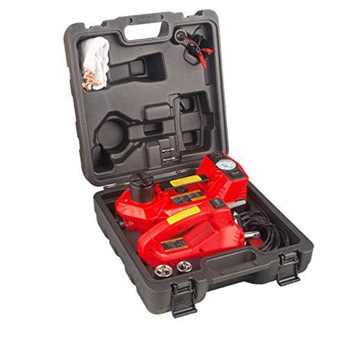 Preisvergleich Produktbild QINAIDI Elektrohydraulischer Wagenheber 3T - Wagenhebersatz Mit DREI Lampen (Aufblasbar + Wagenheber + Lampe) Reparaturwerkzeugsatz Mit Elektrischem Schlagschrauber
