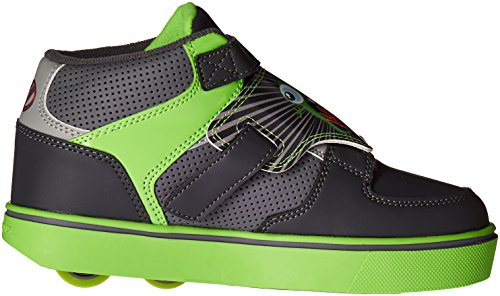 Heelys X2 Tornado - Sneaker mit Rollen - dunkelgrau/hellgrau/grün Grau (Dark Grey / Light Grey / Green)