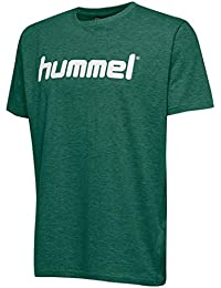 571a39fa3 Hummel HMLGO Kids Cotton Logo T-Shirts, Unisex niños, Verde Oscuro  Evergreen,