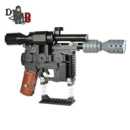finierte Han Solo DL-44 Schwer Blaster Pistole unter verwendung LEGO Teile (Han Solo Blaster Spielzeug)