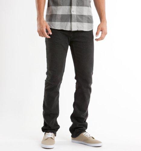 Emerica Herren Jeans Hsu Saratoga Denim worn black
