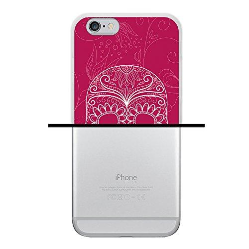 iPhone 6 6S Hülle, WoowCase Handyhülle Silikon für [ iPhone 6 6S ] Coloriertes Graffiti Handytasche Handy Cover Case Schutzhülle Flexible TPU - Transparent Housse Gel iPhone 6 6S Transparent D0489
