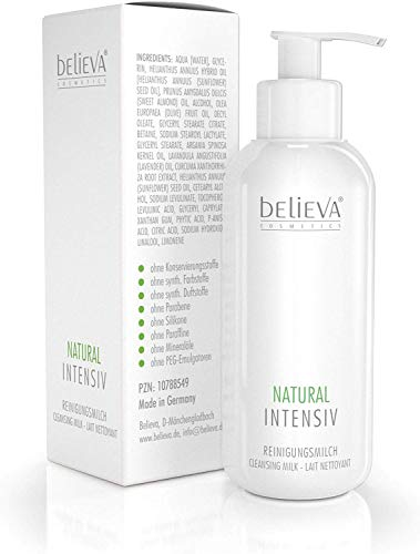 Believa Natural Intensiv Reinigungsmilch, 250 ml