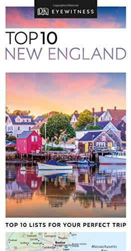 Top 10 New England (DK Eyewitness Travel Guide) - Map New Road England