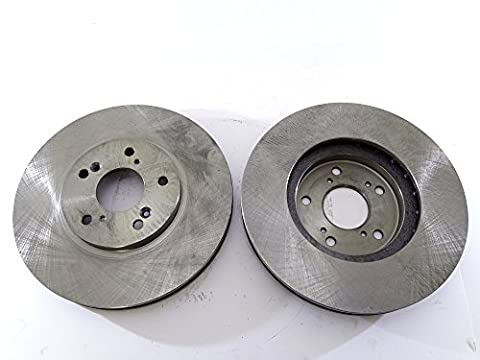 2x Brake Disc Rotor Front 31275 AS TEC For ACURA CL MDX TL TSX HONDA ACCORD ODYSSEY