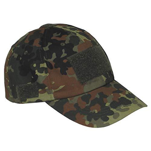 BKL1® Einsatz Cap mit Klett Schirmmütze Flecktarn BW Outdoor Jagd 1833