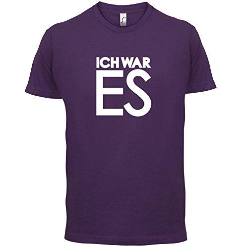 Ich war es - Herren T-Shirt - 13 Farben Lila
