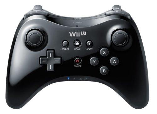 Wii U - Pro Controller, schwarz (Controller Wii U Pro)