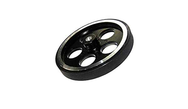 95mm 4mm Hole Diameter Metal wheels for Smart Robot Car Chassis C300